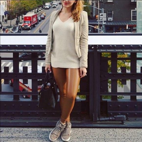 d09cb85ba86d8 Aritzia Pants | Wilfred Free Leather Legging Daria Pant | Poshmark